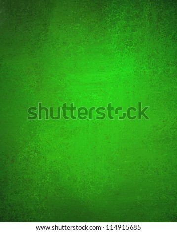 abstract green background with old black vintage grunge background texture elegant green wallpaper or paper, green holiday Christmas background or web design template for Irish background layout ad - stock photo