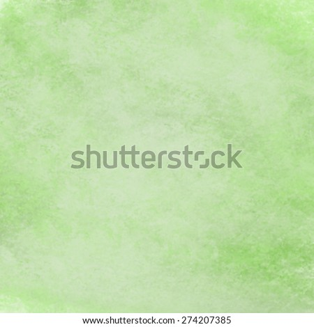 abstract green background with  soft pastel green vintage grunge background texture design on border, light green paper page, old abstract background  - stock photo