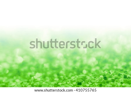 Abstract green background with white copy space