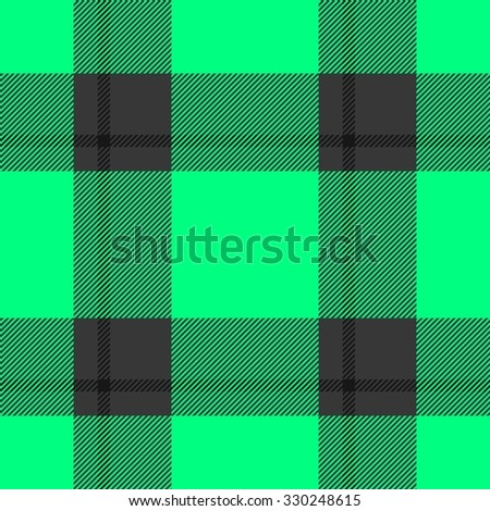 Abstract green black seamless pattern imitative of fabric texture
