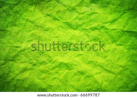 Abstract green grunge background - stock photo