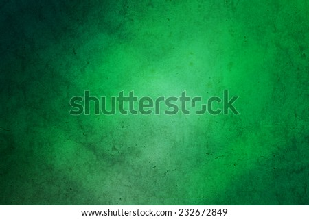 abstract green grunge gradient background - stock photo