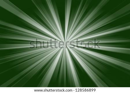 Abstract green light - stock photo