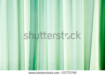 Abstract green texture of drapery and linens. - stock photo