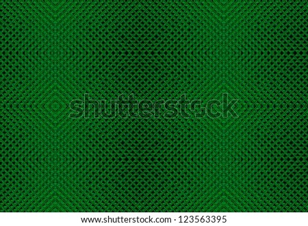 Abstract Green Tiles Background - stock photo
