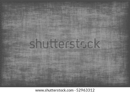 Abstract grey background in the form of a grid in a grunge style - stock photo