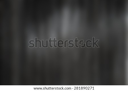 Abstract grey background with bokeh defocused lights and shadow. - stock photo