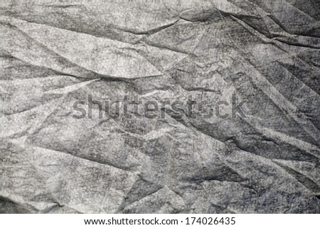 Abstract Grey Canvas Background - stock photo