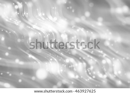 Abstract grey elegant background with glitter and waves
