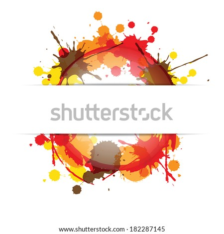 Abstract grunge and colorful artistic background