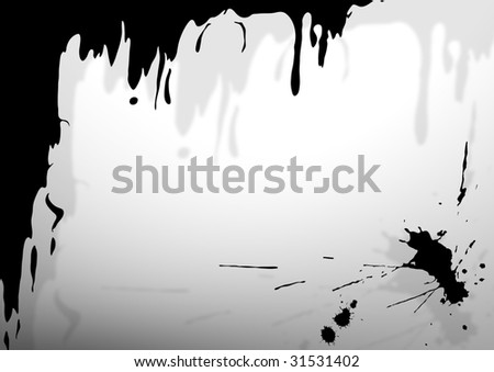 abstract grunge background. ink drip