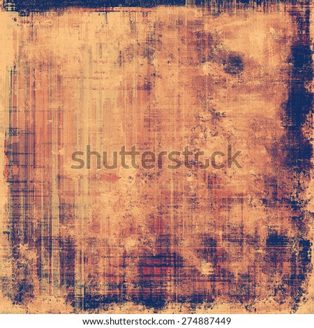 Abstract grunge background or old texture. With different color patterns: yellow (beige); brown; purple (violet) - stock photo