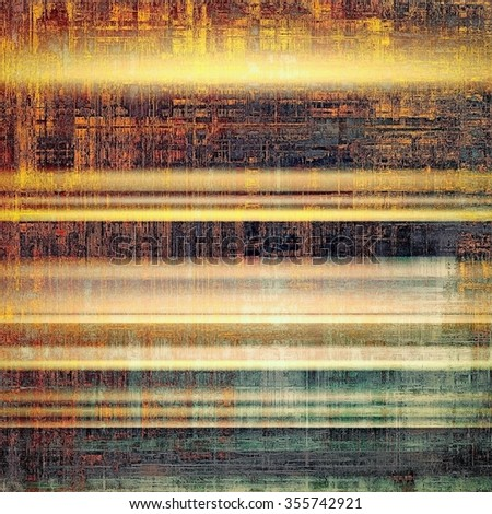 Abstract grunge background or old texture. With different color patterns: yellow (beige); brown; red (orange); green; black - stock photo