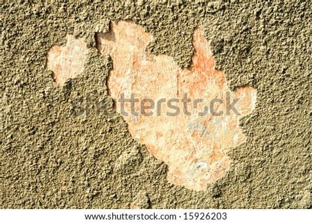 Abstract grunge background. Plaster wall - stock photo