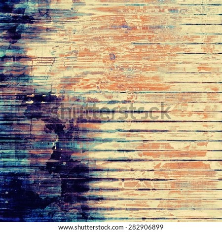 Abstract grunge background. With different color patterns: yellow (beige); brown; blue; purple (violet) - stock photo