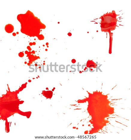 Abstract grunge blob pattern. - stock photo
