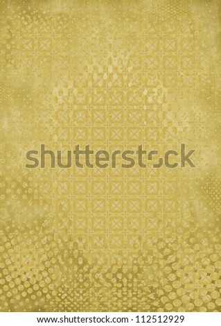 Abstract grunge halftone dotted background - stock photo