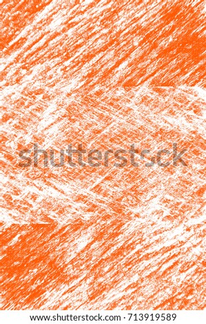 Abstract grunge orange dark stucco wall background. Splash of orange, black, white paint. Art rough stylized texture banner, wallpaper. Backdrop with spots, cracks, dots