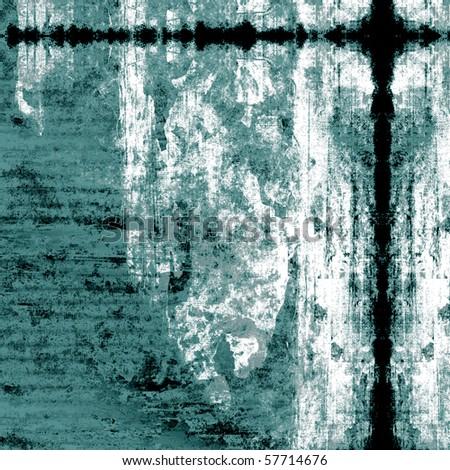 Abstract Grunge Paint Art Design - stock photo