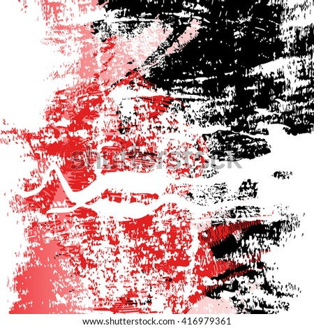 abstract grunge red and black vintage texture, watercolor brush stroke texture and background