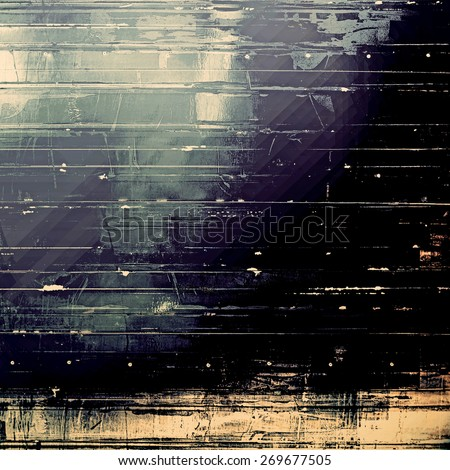 Abstract grunge textured background. With different color patterns: blue; yellow (beige); gray; black - stock photo