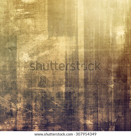 Abstract grunge textured background. With different color patterns: yellow (beige); brown; purple (violet); gray - stock photo