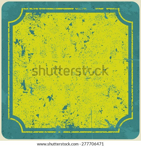 Abstract grunge vintage ribbons background. Raster version - stock photo