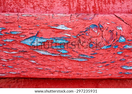 Abstract grunge wood paint texture great background image in bright colors - stock photo