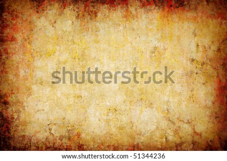 abstract grunge yellow background for multiple uses