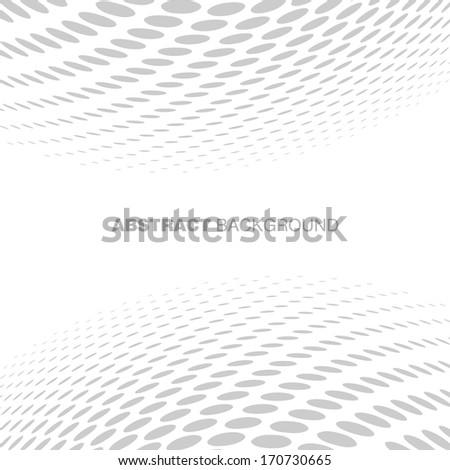 Abstract Halftone Gray Technology Background, raster illustration  - stock photo