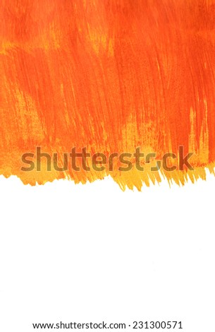 Abstract hand painted acrylic color background