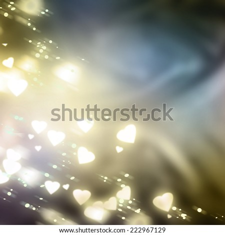 abstract heart background  - stock photo