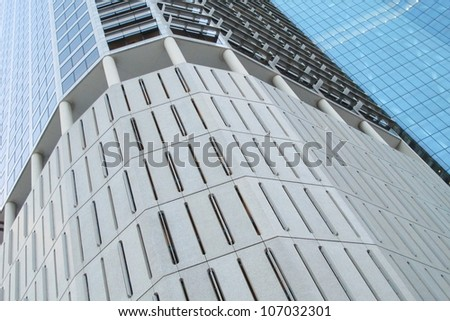 Abstract High Rise Building 1 - stock photo
