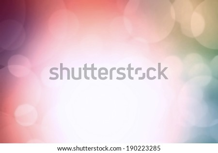 Abstract Holiday Lights twinkled bright background with bokeh defocused colorful lights. Festive background.  - stock photo