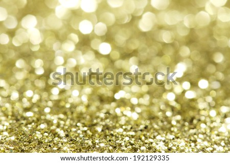 Abstract holidays brass lights on background  - stock photo