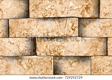 Old Fashioned Decorative Brick Wall Tiles Festooning - Wall Art ...