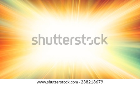 Abstract horizontal pattern with brightly blue explosion. Raster - stock photo