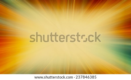 Abstract horizontal vintage background with tawny blast. Raster - stock photo