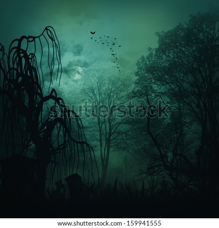 Abstract horror backgrounds for your design - stock photo