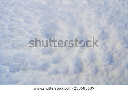 Abstract ice snowy winter background - stock photo