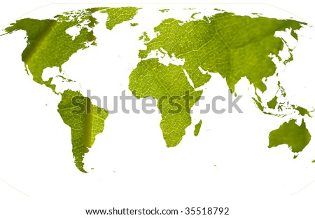 Abstract idea for green and clean world