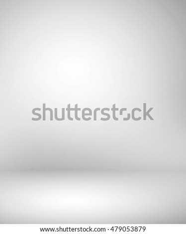 Abstract illustration background texture of beauty dark and light clear blue, cold gray, snowy white gradient flat wall and floor in empty spacious room winter interior