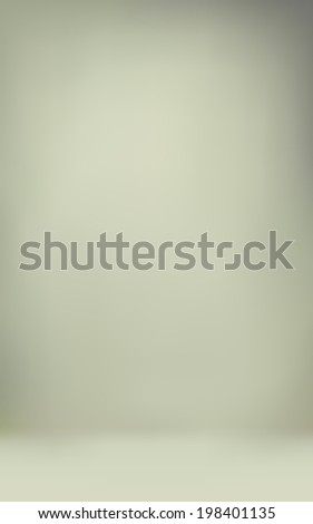 abstract illustration background texture of light gray and beige gradient wall, flat floor in empty room. - stock photo