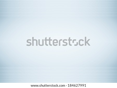 Abstract illustration background texture with light gray gradient wall. Black and white interior structure with billboard. Steel blue sides of empty plates. Successful space for your text and picture. - stock photo