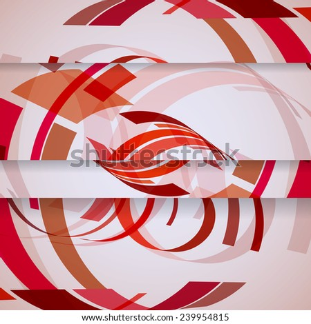 Abstract illustration, colorful digital composition. - stock photo