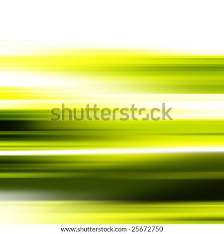 Abstract illustration of a high speed motion - stock photo