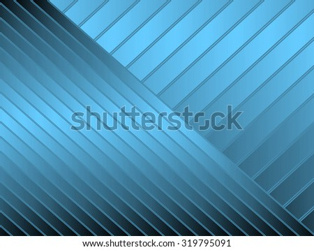 Abstract illustration of blue diagonal stripes for backgrounds and fills