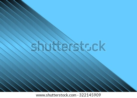 Abstract illustration of blue diagonal stripes for backgrounds and fills - stock photo