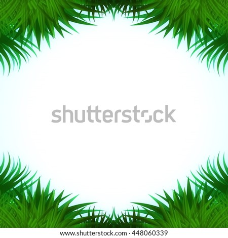 abstract illustration of grass with place for text