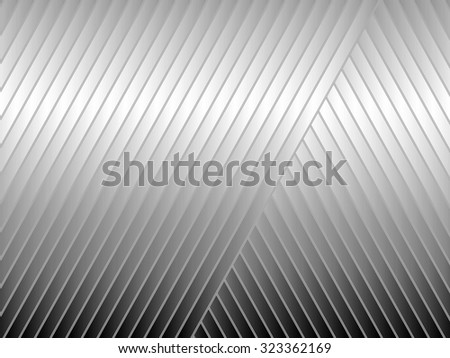 Abstract illustration of gray diagonal stripes for backgrounds and fills - stock photo